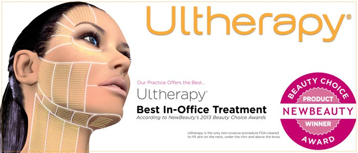 $300 off Ultherapy - neck skin tightening.